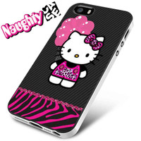 Hello Kitty Black And Pink iPhone 4s iphone 5 iphone 5s iphone 6 case, Samsung s3 samsung s4 samsung s5 note 3 note 4 case, iPod 4 5 Case