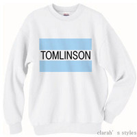 PREORDER Tomlinson Crew Neck Sweater Pull Over One by ClarahStyles