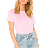 COTTON CITIZEN The Classic Crew Tee in Vintage Light Pink