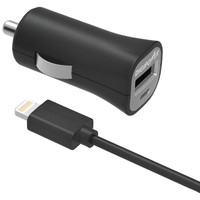 Digipower Instasense 2.4-amp Single Usb Car Charger With 5ft Lightning Cable