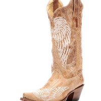 Corral Women's Antique Saddle Wing Boot - R1175