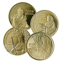 Women Of The Bible Gold Coin Collection