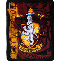 Harry Potter Gryffindor Crest Comfy Throw