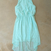 Tucked Lace Dress in Mint [5777] - $28.80 : Vintage Inspired Clothing & Affordable Dresses, deloom | Modern. Vintage. Crafted.