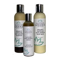 Organic Caffeine Hair Growth Value Set