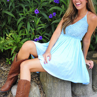 When In Romance Dress: Baby Blue   Hope's