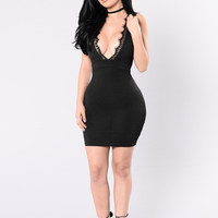Grand Love Dress - Black