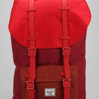 Herschel Supply Co. Little America Weather Red Colorblock Backpack- Red Multi One
