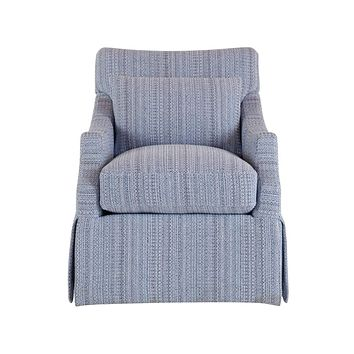 Alchemy Living Accent Chairs Margot Accent Chair - Blue and Gray