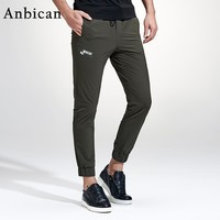 Anbican Fashion Jogger Sweatpants Men 2017 Spring and Summer Brand New Army Military Pants Mens Joggers Slim Casual Trousers