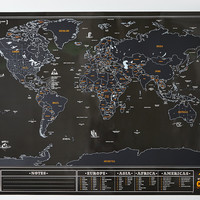 Chalkboard Map, Multi