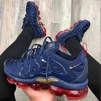 Nike Air Max Vapormax Plus TN Vascular Atmospheric Cushion Fashion personality men and women casual sports shoes