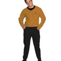 Star Trek Command Gold Footed Adult Pajamas