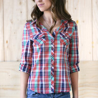 Classic Plaid Button-Up