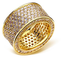 Blinged Out Statement Ring