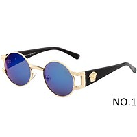 Versace 2018 men and women tide brand fashion delicate sunglasses F-ANMYJ-BCYJ NO.1
