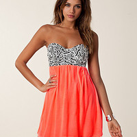 Aztec Bra Neon Dress