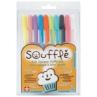 Opaque Puffy Ink Pens - 10 pk.