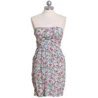 strawberry bliss strapless dress - $38.99 : ShopRuche.com, Vintage Inspired Clothing, Affordable Clothes, Eco friendly Fashion