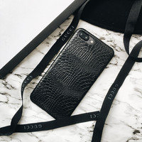 Luxury Snake leather Full Body Decal Glitter Back Film skin sticker Case Cover For iPhone 5 5s 6 6plus 7 7Plus -0324