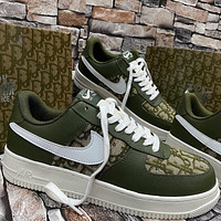 Dior x Nike Air Force 1 low-top flat skateboard shoes