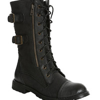 Groove Force Black Boot