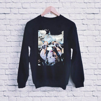 ashton irwin 5 seoncds of summer drummer unisex sweatshirt heppy fit & sizing
