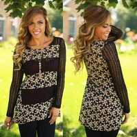 Rows in the Garden Tunic Top - A'reve