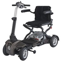 Passport XL Folding Scooter S20 - Heartway Folding Travel Scooters   TopMobility.com