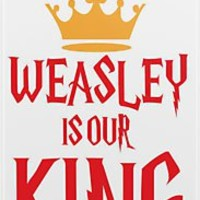 """""""Weasley is Our King"""" iPhone & iPod Cases by Rosalind5 