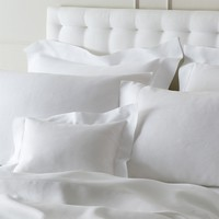 Verano Linen Hemstitch Bedding by Matouk