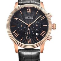 The Rochester Leather Watch