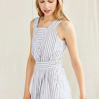 Vintage Striped Romper - Urban Outfitters