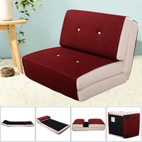 Hot!! New Fold Down Chair Flip Out  Convertible Bedroom Sleeper. Home Furniture