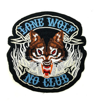 LONE WOLF Vintage Patch