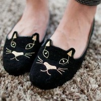 Spring Collection: Sara Kitten Flats from AlisonSman