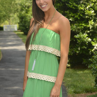 Summer in the City dress, green | Chapter 2 Boutique