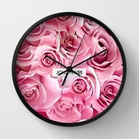 Joi de Vivre Wall Clock by Rui Faria