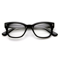 Bold European GQ Optical RX Clear Lens Glasses 8791