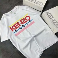KENZO 2018 counter new embroidery mercerized cotton couple models short T F-ZDL-STPFYF