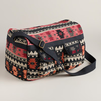 Warm Tribal Weekender Bag - World Market