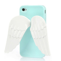 Angel Wing Stand Phone Case  For iPhone 4 4S from The Geek Heaven