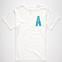 Ayc Water Colors Mens T-Shirt White  In Sizes