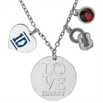 One Direction - Heart Harry Charm Necklace