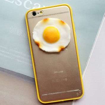 3D Egg Case Cover for iPhone 5s 6 6s Plus Lover Gift 243