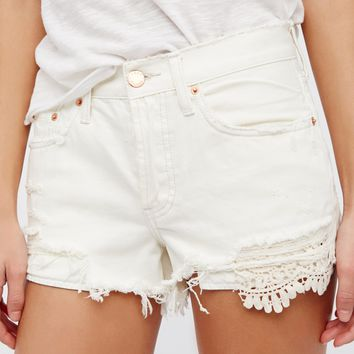 Free People Daisy Chain Lace Short
