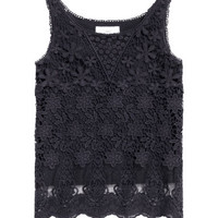 H&M Lace Tank Top $24.99