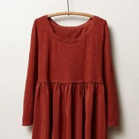 Finley Top by Anthropologie Copper M Tops