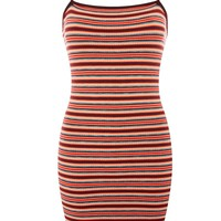 Striped Bodycon Mini Dress | Topshop