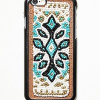Free People Womens Freda Beaded Iphone Case